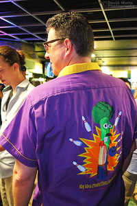 James' Awesome Bowling Shirt