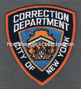 NYPD CORRECTION ORANGE BORDER