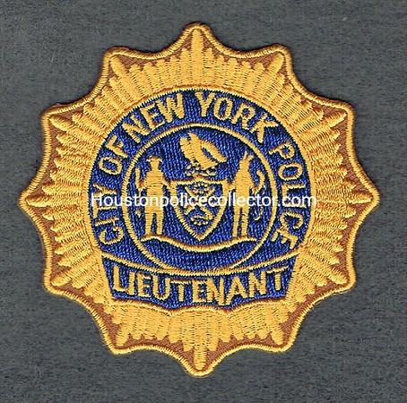 NYPD LIEUTENANT BP