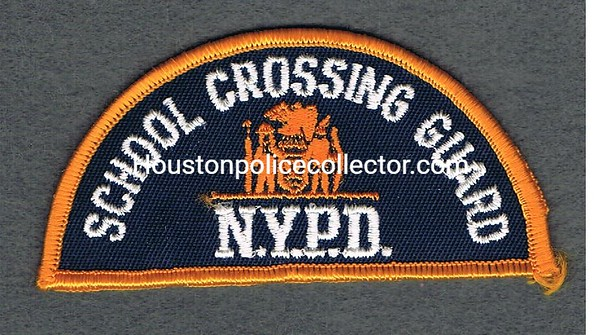 NYPD SCHOOL CROSSING GUARD