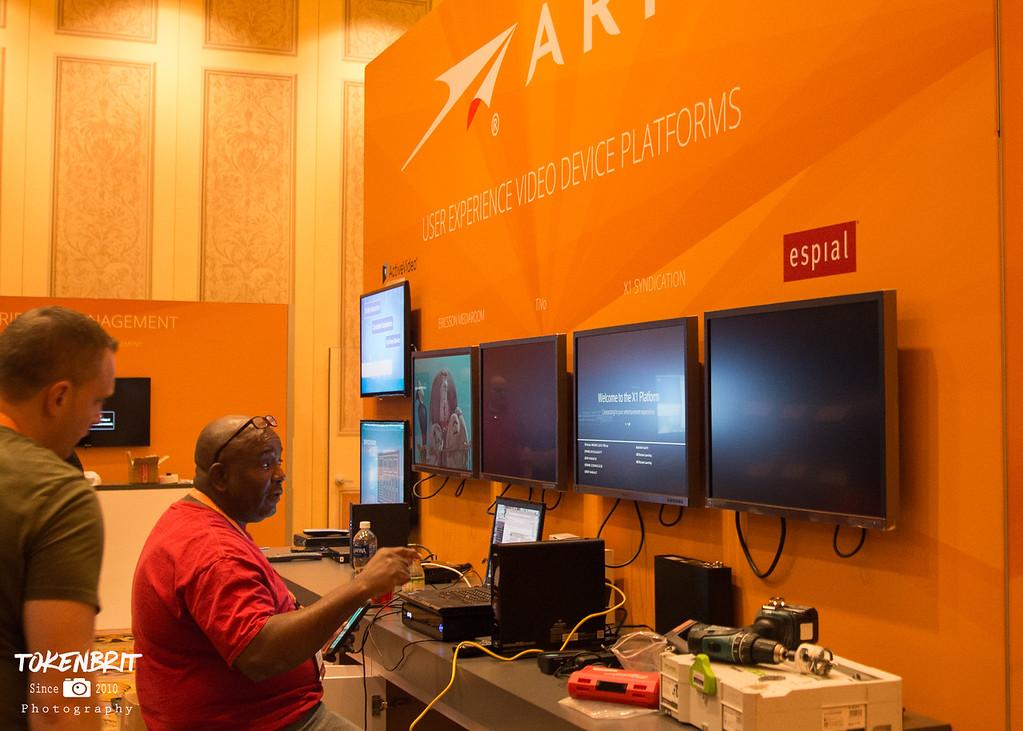 CES '17 ARRIS Setup LR-6293
