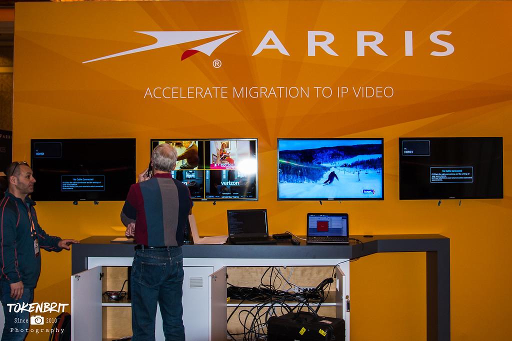CES '17 ARRIS Setup LR-6290