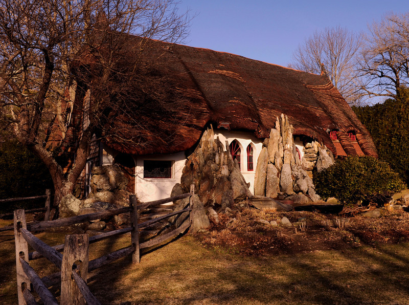 Free Flowing<br /> Tyringham, MA<br /> 'Gingerbread House' built in 1930's by sculptor Henry Kitson