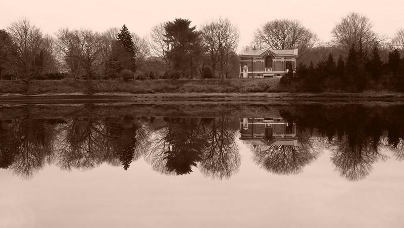 Quiet Chapel on the River<br /> Mystic, Connecticut