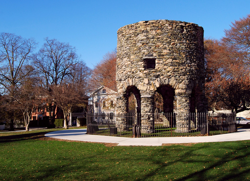 Viking Tower in the Park