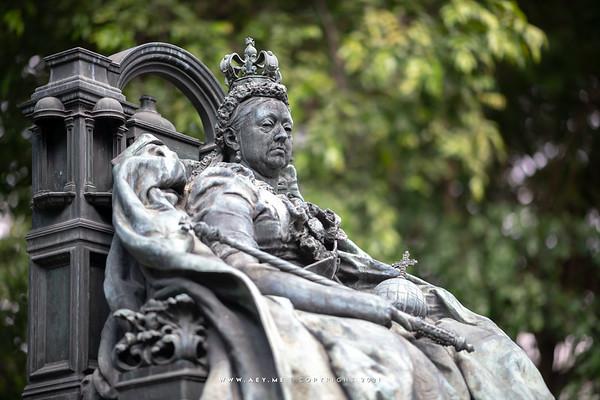 Queen Victoria's Statue, British Embassy, Bangkok