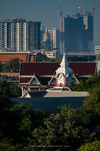 Clock Tower and Saranrom Park