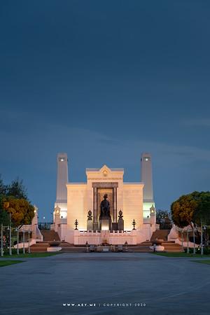 King Rama I Monument & Memorial Bridge