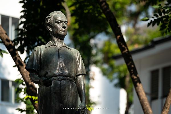 Professor Silpa Bhirasri (Corrado Feroci)'s Monument, Silpakorn University