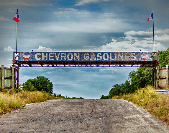 Chevron Gas Edited HDR