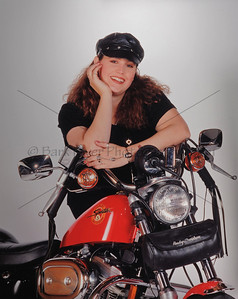Sure you can bring your Harley to your portrait session.