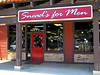 Snead's Men's Store in Bakersfield, featuring Edwin Jagger products.