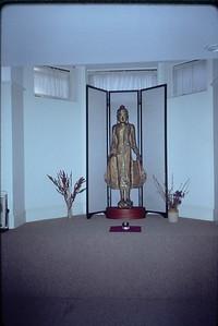 Buddha Statue at the Cambridge Insight Meditation Center (Cambridge, MA) Buddhism (MA)