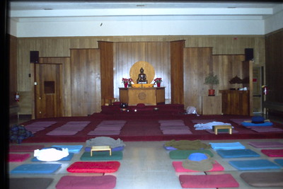Meditation Hall with Altar (Barre, MA) Buddhism (MA)