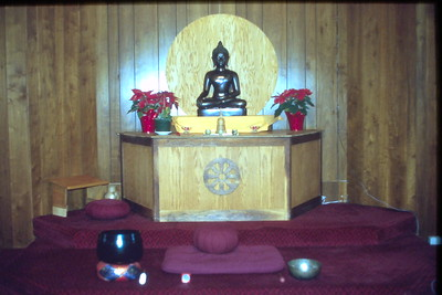 Buddhist Meditation Altar (Barre, MA) Buddhism (MA)