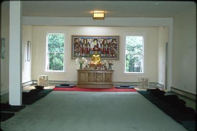 Meditation Room of the Cambridge Zen Center (Cambridge, MA) Buddhism (MA)