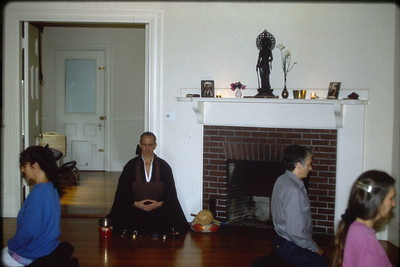 Group Buddhist Meditation at the Cambridge Buddhist Association (Cambridge, MA) Buddhism (MA)