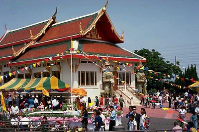 New Year's Celebration at Wat Thai (North Hollywood, CA)