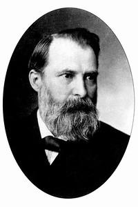 Portrait of Author Paul Carus