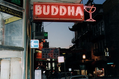 Bar Sign In San Francisco's Chinatown (San Francisco, CA)