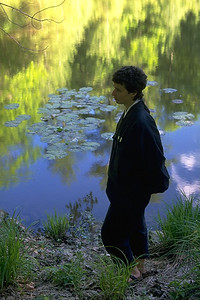Walking Meditation By the Pond at Zen Mountain Monastery (Mt. Tremper, NY)