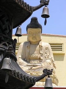 Exterior of the City of 10,000 Buddhas (Ukiah, CA)