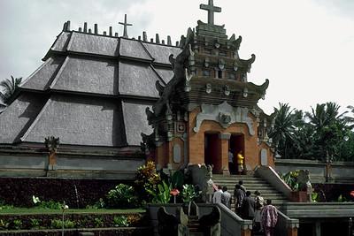 Protestant Church in Bali (Blimbingsari, Indonesia)