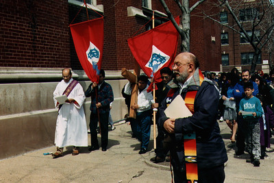 """""""Way of the Cross"""" Procession on Good Friday (Chicago, IL)"""