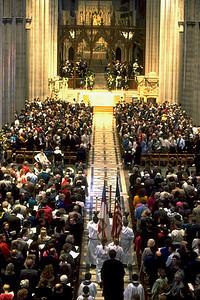 Procession at Washington National Cathedral (Washington, D.C.)