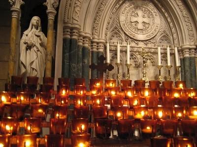 Solemn Light at Saint Patrick's Cathedral (New York City, NY)