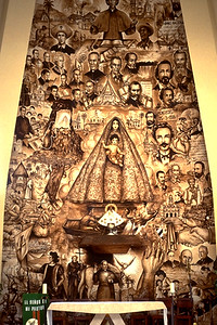 Artwork Depicting Our Lady of Charity (Miami, FL)