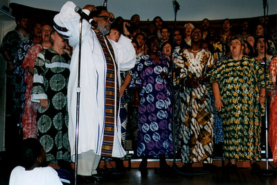The Reverend Cecil Williams and the Gilde Ensemble Gospel Choir (San Francisco, CA)