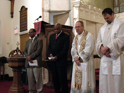 Prayers offered at anniversary service (Cambridge, MA)