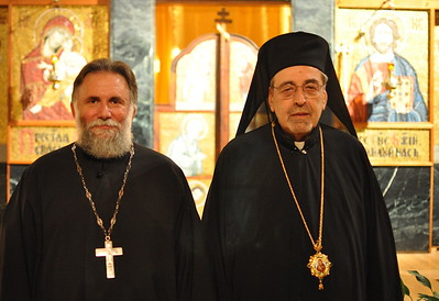 Father Arida and Bishop Nikon (Boston, MA)
