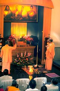 Altar at the Arlington Vedanta Society Tapovan Retreat Center (Arlington, WA)