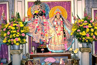 Images of Krishna and Radha (Issaquah, WA)