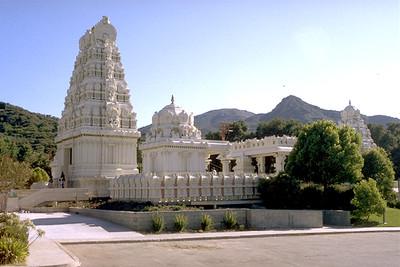 Outside of the Sri Venkatesvara Temple (Calabasas, CA)