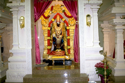 Balaji Statue at the Hindu Temple of Oklahoma (Oklahoma City, OK)