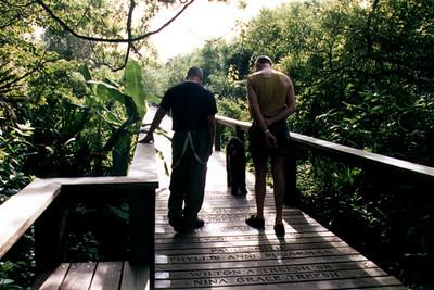 AIDS Memorial Boardwalk at the Kashi Ashram (Roseland, FL)