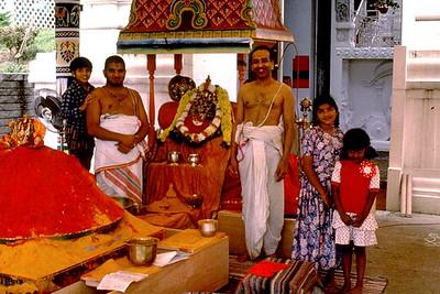 Kumkum Offering Rite at the Sri Venkateswara Temple (Pittsburgh, PA)