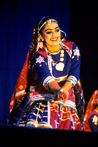 Dancer Performs at the Festival of India (Edison, NJ)