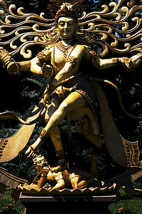 Statue of Dancing Shiva or Nataraja at the Festival of India (Edison, NJ)