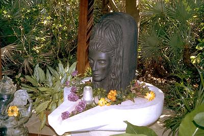 Shiva Linga at the Kashi Ashram (Roseland, FL)
