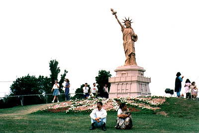 Statue of Liberty at the Festival of India (Edison, NJ)