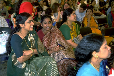 Hindu Women Gather at Sri Lakshmi Temple (Ashland, MA)