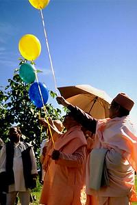 Monks of the Vedanta Society at the Tapovan Retreat Center Dedication (Arlington, WA)