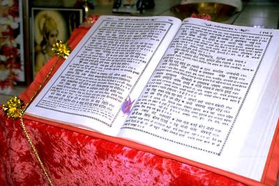 Text of the Ramayana at Shiva Mandir (Fort Lauderdale, FL)