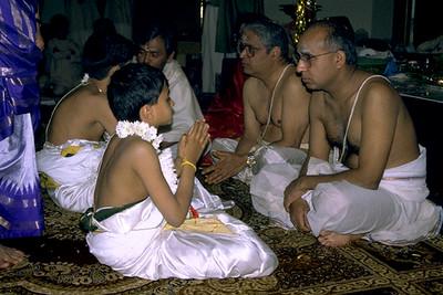 Hindu Initiates Learn the Vedas from Senior Monks (Bridgewater, NJ)