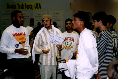 Singing for Donations at the ISNA Convention