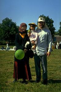 Family During Eid al-Adha Festivities (Dorchester, MA)